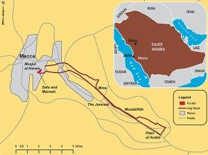 Peta Haji - LDII